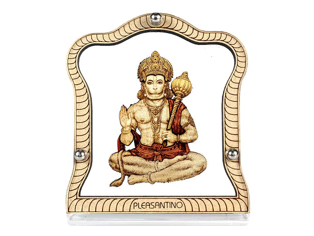 car dashboard frame stand wood carved religious hindu god hanuman wood carved figurine