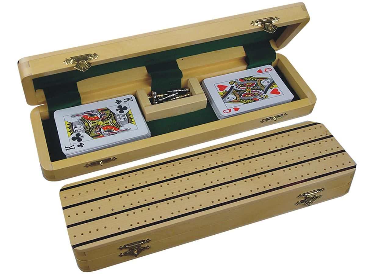 Cribbage Boards in White Maple