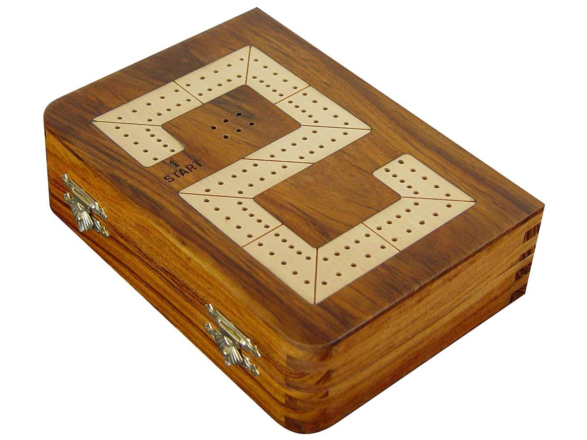 Digit 2 of 29 Cribbage board