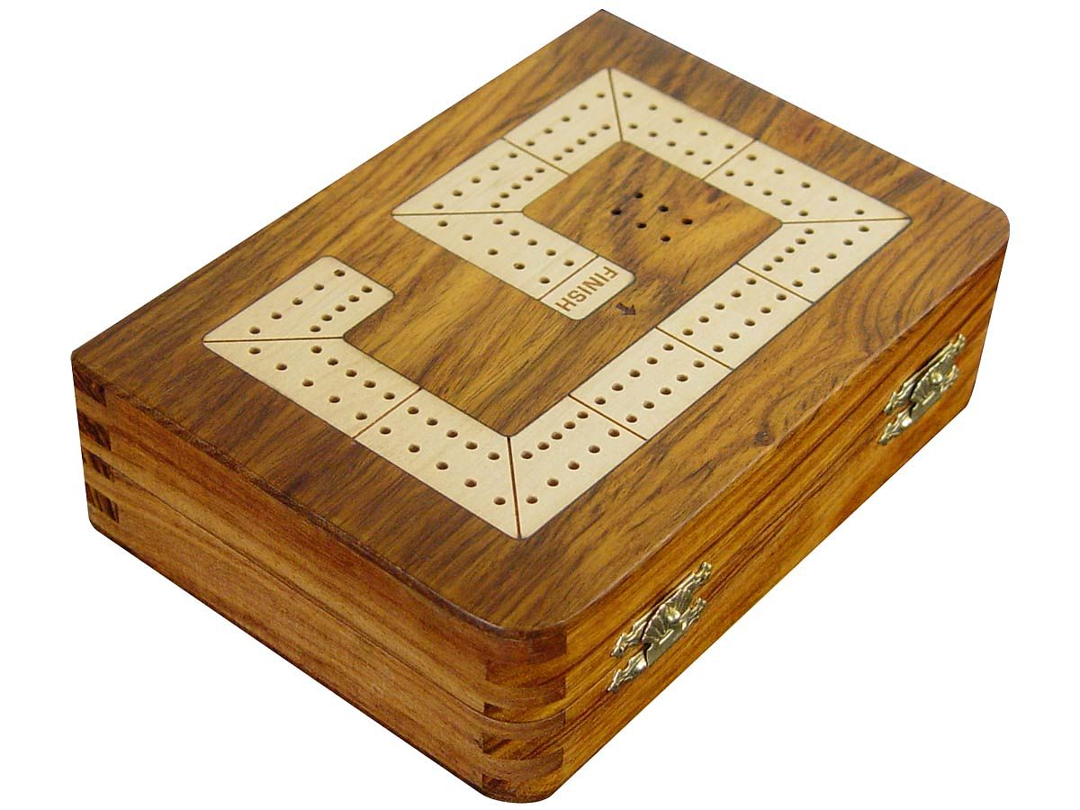 Digit 9 of 29 Cribbage board