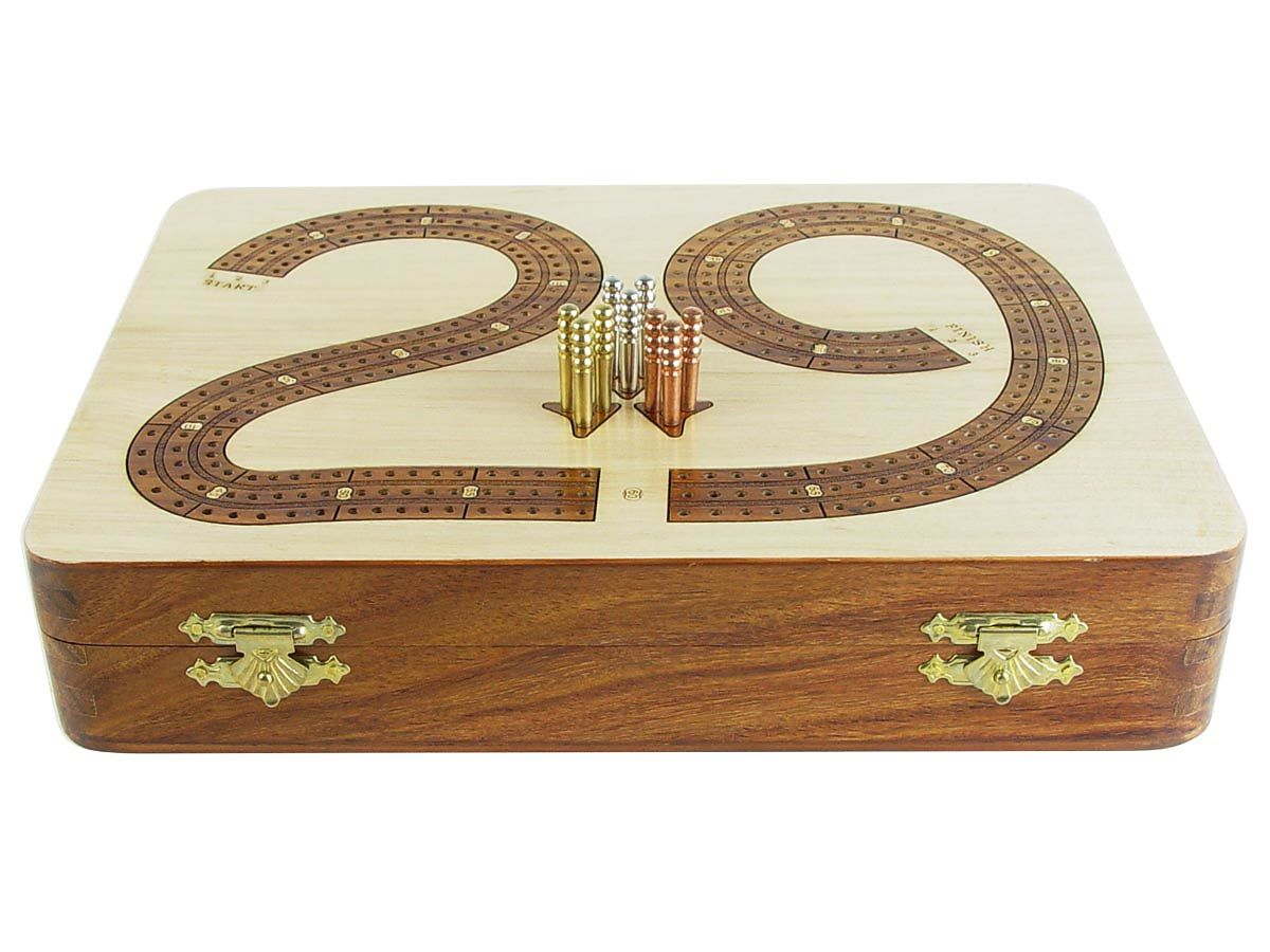 Cribbage board / box - Front View