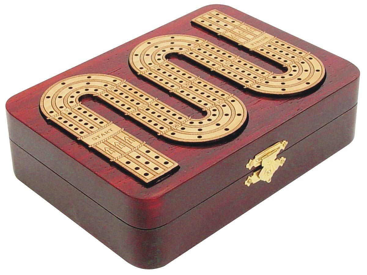 Side View of Cribbage Board Zig Zag Shape Continuous