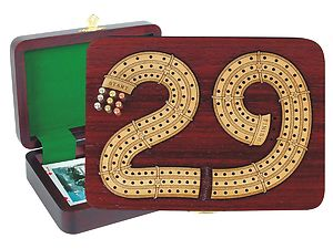 Custom theme cribbage boards 29 cribbage board inlaid in blood wood maple 3 tracks 7 maxwellsz