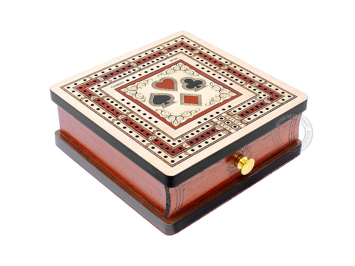 Square Cribbage Board