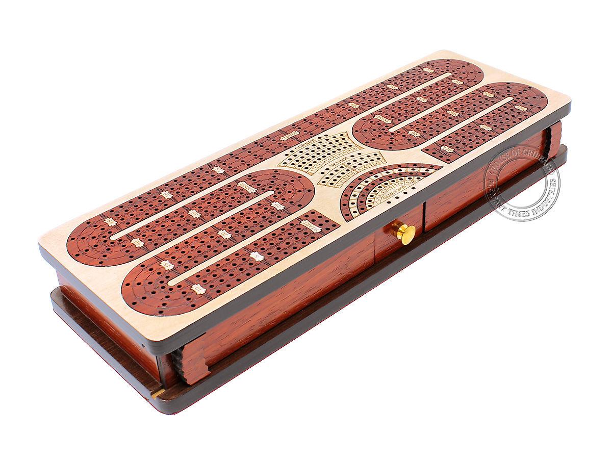 Twist Design Cribbage Board 4 Track