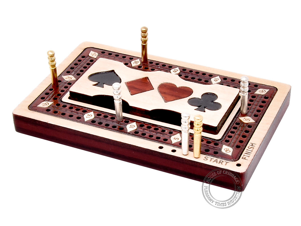 Small Cribbage Board - Pocket Size